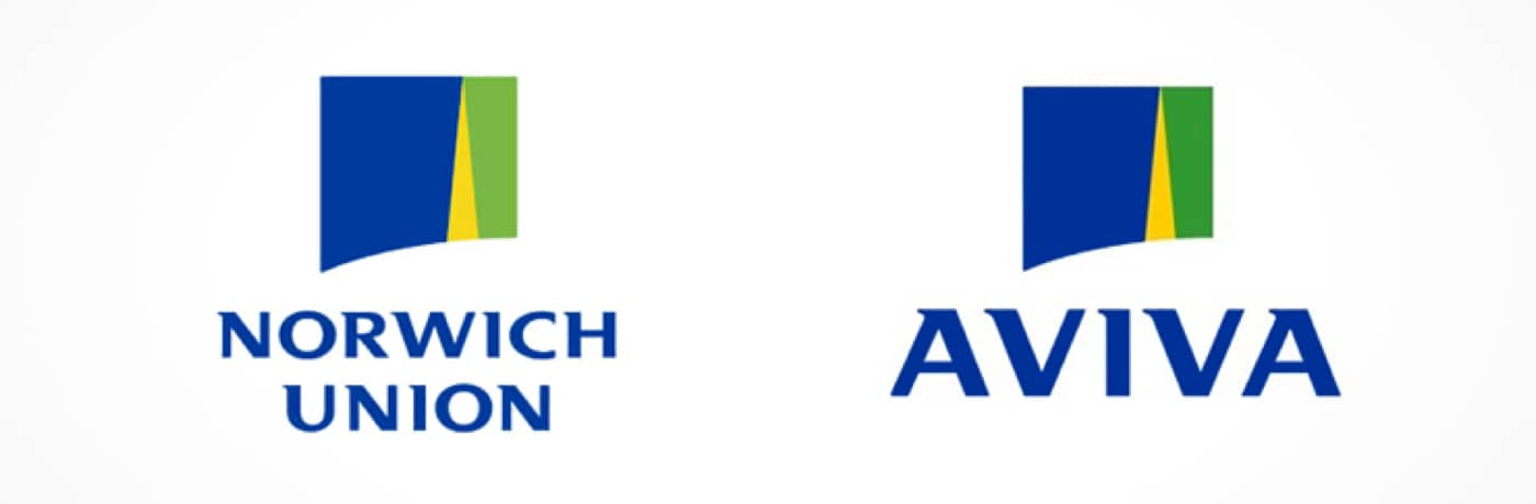 Norwich Union rebrands as Aviva